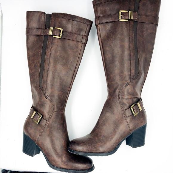 6d5d28d802054d Naturalizer Shoes | Jenelle Wide Calf Riding Boot | Poshmark